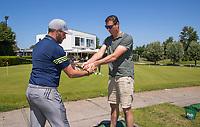 NOORDWIJK / VOORHOUT -  -  - NGF GolfStart bij Noordwijk Golfcentrum.  olv  PGA pro , golfleraar Michael John de Moor     COPYRIGHT KOEN SUYK