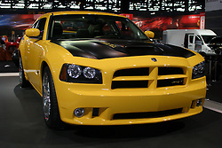 09 February 2006:  2007 Dodge Charger SRT8 Super Bee Concept Vehicle.....Chicago Automobile Trade Association, Chicago Auto Show, McCormick Place, Chicago IL