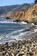 Highway One along the Central California Coast Line in Big Sur