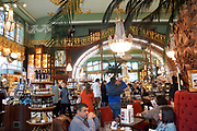 The food hall of Elisseeff Emporium a large retail and entertainment complex, Saint Petersburg, Russia