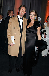 HUGH & BEATRICE WARRENDER at the Conservative Party's Black & White Ball held at Old Billingsgate, 16 Lower Thames Street, London EC3 on 8th February 2006.<br /><br />NON EXCLUSIVE - WORLD RIGHTS