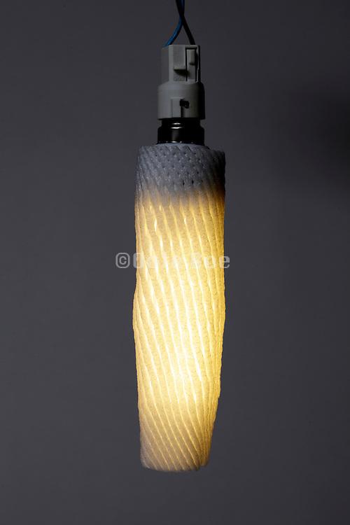 energy savings light bulb with protective cover