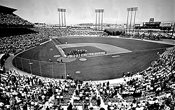 San Francisco Giants Opening day at Candlestick Park<br />(1968 photo/Ron Riesterer)