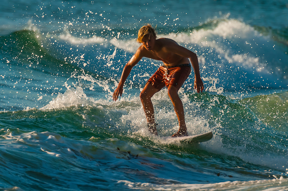 Surfing, Manly Beach, Sydney, New South Wales, Australia
