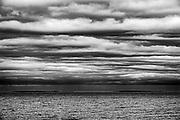 Clouds over Lake Winnipeg