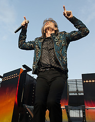 Mick Jagger 0f The Rolling Stones performs on stage at Ricoh Arena on June 02, 2018 in Coventry, England. Picture date: Saturday 02 June, 2018. Photo credit: Katja Ogrin/ EMPICS Entertainment.