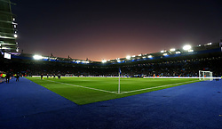The sunsets over The King Power Stadium - Mandatory by-line: Robbie Stephenson/JMP - 29/10/2017 - FOOTBALL - King Power Stadium - Leicester, England - Leicester City v Everton - Premier League