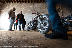 Kevin Teach Baas' 1977 XLD Harley-Davidson Ironhead drag bike at the Mama Tried Bike Show. Milwaukee, WI, USA. Saturday, February 18, 2017. Photography ©2017 Michael Lichter.