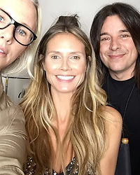 """Heidi Klum releases a photo on Instagram with the following caption: """"Get ready America\u2026 I am getting ready too! Another new episode of @agt is on tonight at 8/7c!"""". Photo Credit: Instagram *** No USA Distribution *** For Editorial Use Only *** Not to be Published in Books or Photo Books ***  Please note: Fees charged by the agency are for the agency's services only, and do not, nor are they intended to, convey to the user any ownership of Copyright or License in the material. The agency does not claim any ownership including but not limited to Copyright or License in the attached material. By publishing this material you expressly agree to indemnify and to hold the agency and its directors, shareholders and employees harmless from any loss, claims, damages, demands, expenses (including legal fees), or any causes of action or allegation against the agency arising out of or connected in any way with publication of the material."""