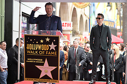 Blake Shelton attends the ceremony honoring Adam Levine with a star on the Hollywood Walk of Fame on February 5, 2017 in Los Angeles, California. Photo by Lionel Hahn/AbacaUsa.com