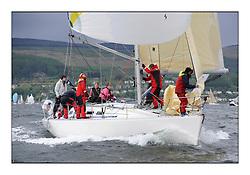 Savills Kip Regatta 2011, the opening regatta of the Scottish Yachting Circuit, held on the Clyde...Still Smilin, GBR3929, Sigma 400