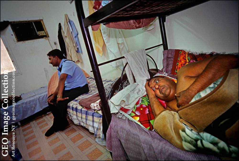 South Asian laborers and taxi drivers—many from impoverished rural communities in Pakistan, India, Bangladesh, Nepal and Sri Lanka—sleep ten to a room in an apartment in the Al Quoz Industrial Area, a gritty, unpolished section of Dubai opposite to the soaring high-rises that have made the United Arab Emirates a glamourous tourist destination. Many lost their jobs when the Covid-19 pandemic swept the emirates, but we too poor to afford to fly home.