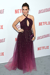 August 9, 2018 - Hollywood, California, USA - ALYSSA MILANO attends Netflix's 'Insatiable' Season 1 premiere at ArcLight Hollywood. (Credit Image: © Billy Bennight via ZUMA Wire)