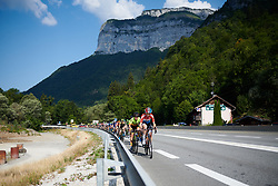 Christine Majerus (LUX) at La Course by Le Tour de France 2018, a 112.5 km road race from Annecy to Le Grand Bornand, France on July 17, 2018. Photo by Sean Robinson/velofocus.com
