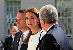 Sir Keith Mills; Catherine Duchess of Cambridge; Sir Ben Ainslie, America's Cup Launch Event, National Maritime Museum, Greenwich London UK, 10 June 2014, Photo by Mike Webster