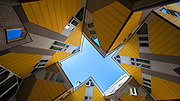 The Cube Houses in Rotterdam, the Netherlands