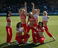 Photo: Tony Oudot.<br />Queens Park Rangers v Sheffield Wednesday. Coca Cola Championship. 10/03/2007.<br />The News of the World Angels cheerleaders at the match