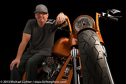 Paul Yaffe's give away bike for Easy Riders Magazine. Photographed at the Sacramento Easy Riders show in 2013 by Michael Lichter.