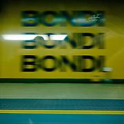 Bondi Junction. Sydney subway