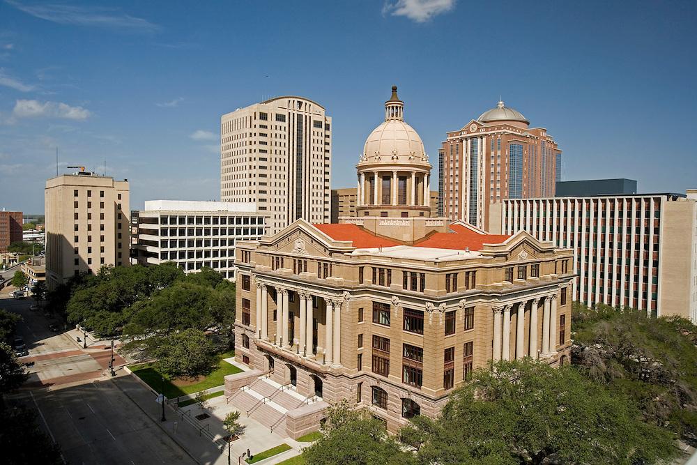 Stock photo of Houston's Historic 1910 Courthouse