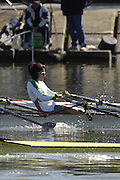Seville. SPAIN, 18.02.2007, MEX LW2X, bow Lila PEREZ and Analicia REMIREZ, competing in Sundays final, at the FISA Team Cup, held on the River Guadalquiver course. [Photo Peter Spurrier/Intersport Images]    [Mandatory Credit, Peter Spurier/ Intersport Images]. , Rowing Course: Rio Guadalquiver Rowing Course, Seville, SPAIN,
