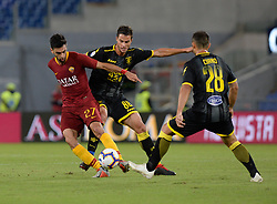 September 26, 2018 - Rome, Italy - Javier Pastore during the Italian Serie A football match between A.S. Roma and Frosinone at the Olympic Stadium in Rome, on september 26, 2018. (Credit Image: © Silvia Lore/NurPhoto/ZUMA Press)