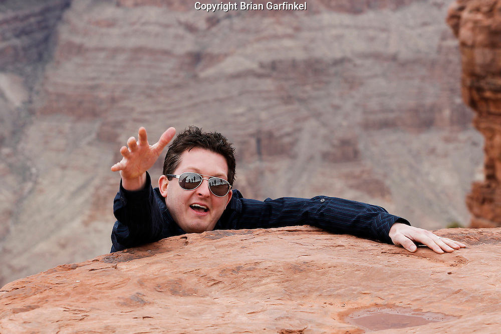 Wes at The Grand Canyon in Arizona on March 26th 2011. (Photo By Brian Garfinkel)