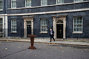Prime Minister Boris Johnson walks towards a lecturn to a make a statement announcing the start of the Conservative and Unionist partys general election campaign in 10 Downing Street in London, United Kingdom on 6th November, 2019. This follows his meeting with Queen Elizabeth II to request the dissolution of Parliament, British voters go to the polls on December 12, 2019.