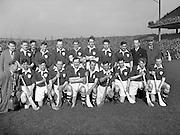 Interprovincial Railway Cup Hurling Final, .Leinster v Munster, .Leinster Team..17.03.1954, 03.17.1954, 17th March 1954,