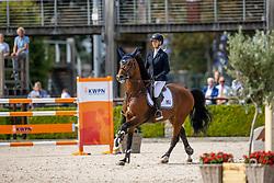 Hoogenraat Kim, NED, Jubel ES<br /> Nationaal Kampioenschap KWPN<br /> 6 jarigen springen round 1<br /> © Hippo Foto - Dirk Caremans<br />  17/08/2020
