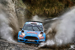 October 28, 2016 - PAYS GALLES - Mads Ostberg (NOR) / Ola Floene (NOR)- Ford Fiesta WRC. (Credit Image: © Panoramic via ZUMA Press)