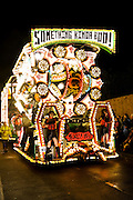 Something Kinda Boo! by Mendip Vale Carnival Club at Bridgwater Carnival 2009. Seventh in the Feature Cart Open Class.
