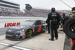 May 6, 2018 - Dover, Delaware, United States of America - Trevor Bayne (6) brings his car down pit road for service during the AAA 400 Drive for Autism at Dover International Speedway in Dover, Delaware. (Credit Image: © Chris Owens Asp Inc/ASP via ZUMA Wire)