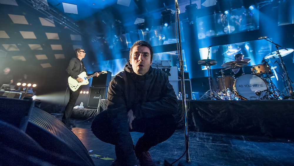 Liam Gallagher in concert at The Barrowland Ballroom, Glasgow, Great Britain 11th June 2017