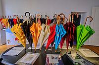 France, Manche (50), Cherbourg-Octeville, manufacture des parapluies de Cherboug // France, Normandy, Manche department, Cherbourg-Octeville, Cherbourg umbrella factory
