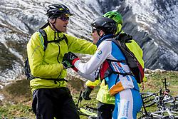 16-09-2017 FRA: BvdGF Tour du Mont Blanc day 7, Beaufort<br /> De laatste etappe waar we starten eindigen we ook weer naar een prachtige route langs de Mt. Blanc / Tjebbe en Javier