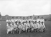 The Galway team at the All Ireland Minor Gaelic Football Final Cork v. Galway in Croke Park on the 26th September 1960.