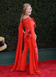 2018 Daytime Emmy Awards. 29 Apr 2018 Pictured: Tracey E. Bregman. Photo credit: MEGA TheMegaAgency.com +1 888 505 6342