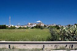Panoramica dela città di Oria