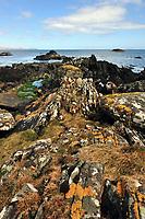 Rugged Scottish landscape on the island of Islay