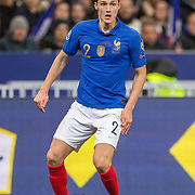 PARIS, FRANCE - March 25:  Benjamin Pavard #2 of France in action during the France V Iceland, 2020 European Championship Qualifying, Group Stage at  Stade de France on March 25th 2019 in Paris, France (Photo by Tim Clayton/Corbis via Getty Images)