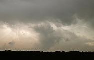 Middletown, New York - Lightning streaks across the sky during a thunderstorm on the night of Aug. 1, 2011.