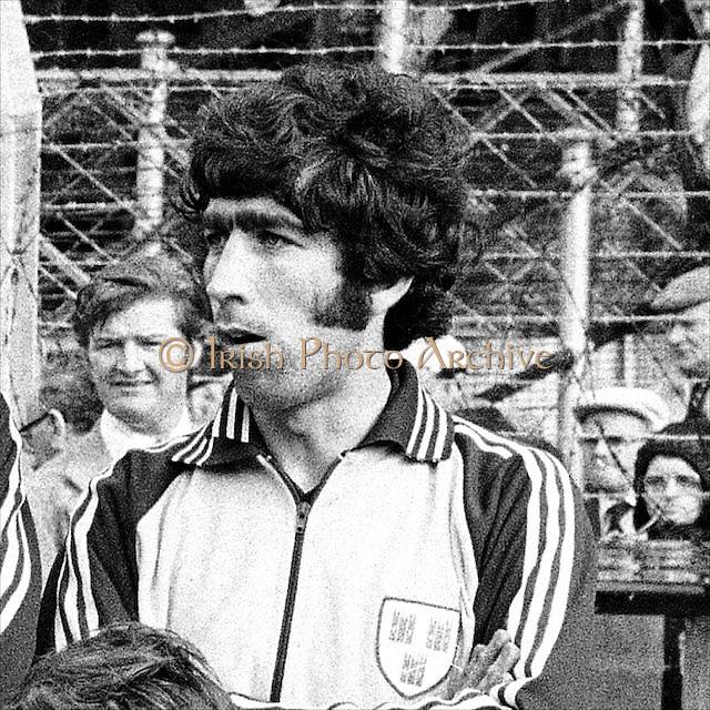 Dublin player before the All Ireland Senior Gaelic Football Final, Dublin v Armagh in Croke Park on 25th September 1977.