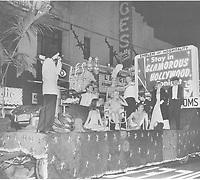 1057 Santa Claus Lane Parade on Hollywood Blvd.