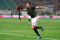 """Marco BORRIELLO Milan celebrates his second goal<br /> Esultanza dopo il secondo gol<br /> Milano 6/1/2010 Stadio """"Giuseppe Meazza""""<br /> Milan - Genoa 5-2<br /> Campionato Italiano Serie A 2009/2010<br /> Foto Andrea Staccioli Insidefoto"""