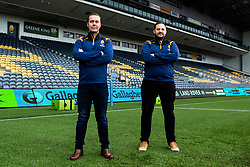 Worcester Warriors owners Jason Whittingham and Colin Goldring - Mandatory by-line: Robbie Stephenson/JMP - 30/09/2020 - RUGBY - Sixways Stadium - Worcester, England - Worcester Warriors Owners
