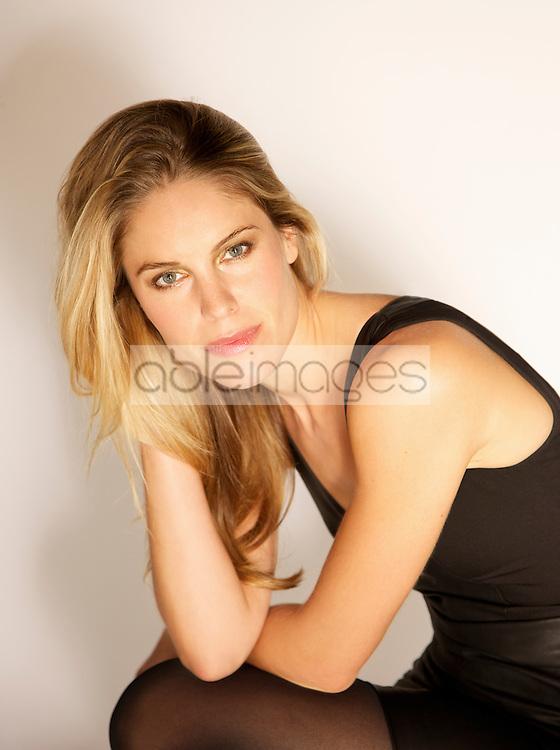 Portrait of Attractive Blonde Woman