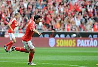 20120421: LISBON, PORTUGAL - Portuguese Liga Zon Sagres 2011/2012 - SL Benfica VS Maritimo<br /> In picture: Benfica's Nolito, from Spain, celebrates after scoring their second goal against Maritimo.<br /> PHOTO: Alvaro Isidoro/CITYFILES