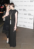 Erin O'Connor London Evening Standard Theatre Awards, The Savoy Hotel, London, UK. 20 November 2011. Contact rich@pictured.com +44 07941 079620 (Picture by Richard Goldschmidt)