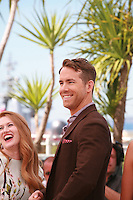 Mireille Enos, Ryan Reynolds at the photocall for the film Captives at the 67th Cannes Film Festival, Friday 16th May 2014, Cannes, France.